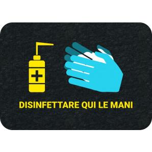 PIG® Grippy® Safety Message Floor Mat per l'igiene