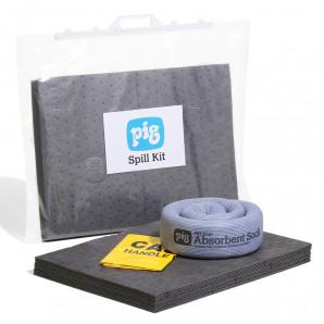 Valigetta con chiusura a clip per kit per fuoriuscite Universale PIG® Essentials 15 L