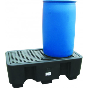 Pallet di contenimento in polietilene PIG® Essentials per il contenimento delle fuoriuscite