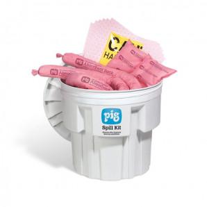 Kit di intervento PIG® in contenitore da 76 litri – HAZ-MAT