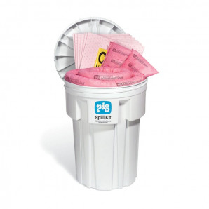 Kit per la pulizia di sversamenti PIG® - HAZ-MAT in overpack da 115 litri