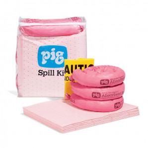 Kit antisversamento PIG® in sacco trasparente