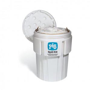 Kit PIG® per la gestione di fuoriuscite in un imballaggio straordinario da 360 litri.