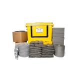 Kit PIG® Essentials di gestione delle fuoriuscite universale - Contenitore con ruote e apertura anteriore