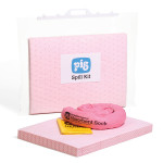 Valigetta con chiusura a clip per kit per fuoriuscite di prodotti chimici PIG® Essentials 15 L