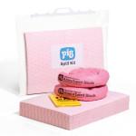 Valigetta con chiusura a clip per kit per fuoriuscite Chemical (prodotti chimici) PIG® Essentials 30 L