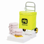 Kit di intervento PIG® con sacco su carrello a ruote - Oil-Only