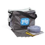 Kit per fuoriuscite in borsa cubica trasparente Universale PIG®