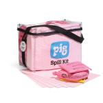 Kit per fuoriuscite in borsa cubica trasparente HazMat PIG®