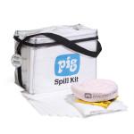 Kit per fuoriuscite in borsa cubica trasparente Oil-Only PIG®