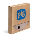 Coprifusto marrone PIG® Oil-Only per fusti da 210 l - Pesante